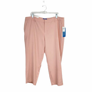 NWT Old Navy Blush Harper Crop Trousers